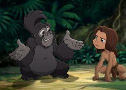 Tarzan 2 Characters Edgar Rice Burr...